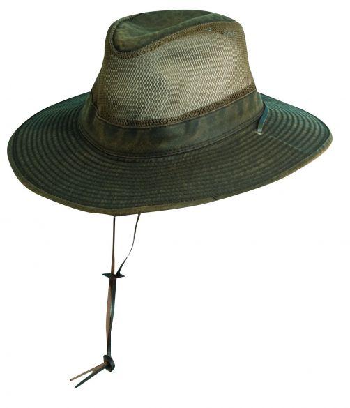 Dorfman-Pacific---UPF-50+-Men's-UV-Hat-Brown