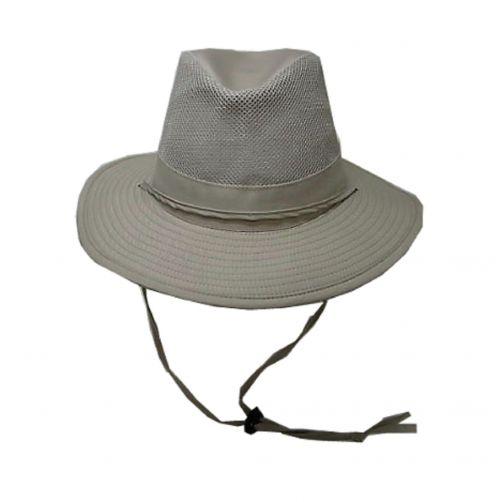 Dorfman-Pacific---UV-Safari-hat-for-men---Kaki