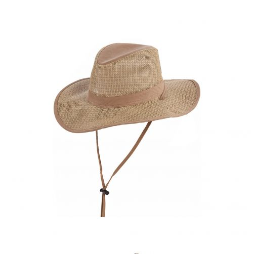 Dorfman-Pacific---Safari-seagrass-hat-for-Men---Kaki