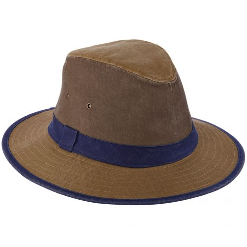 Dorfman-Pacific---UV-hat-for-men---Kaki