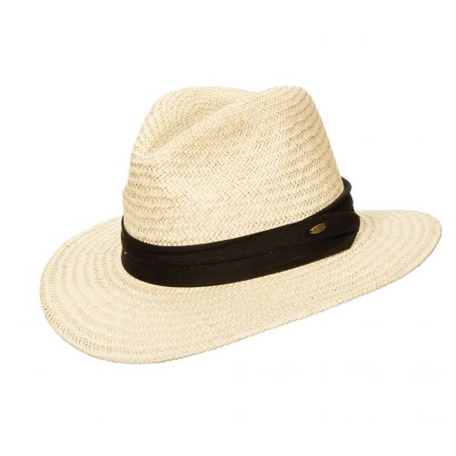 UV Safari palm hat for Men from Scala - Natural - 0