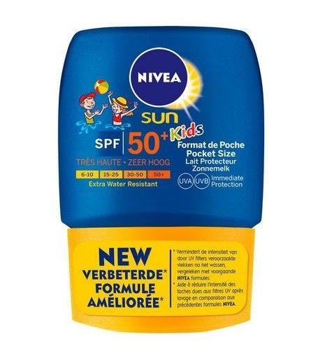 Nivea---UV-sun-milk-for-children---Sun-protect-&-hydrate-SPF50+