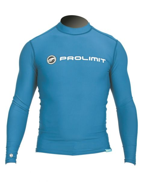 Prolimit---Swim-shirt-for-men-with-long-sleeves---Blue