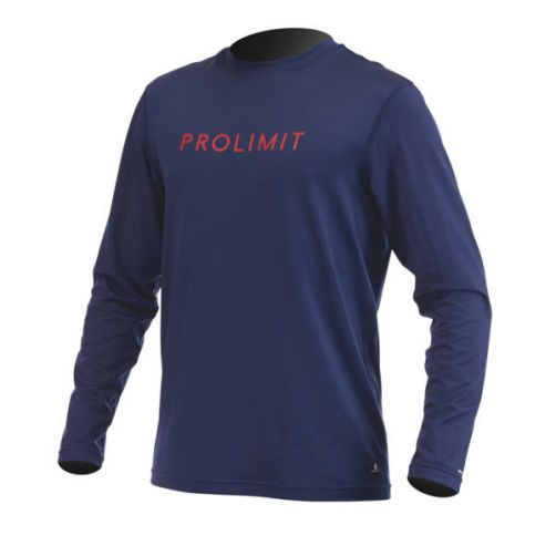 Prolimit---UV-shirt-for-men---Dark-blue-/-yellow