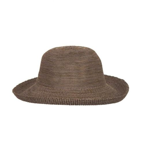Rigon---UV-sun-hat-for-women---Suede-brown