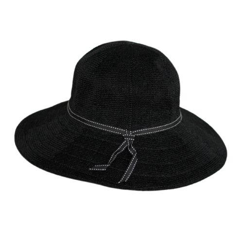 Rigon---UV-Floppy-hat-for-women---Suzi---Black