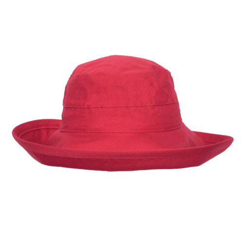 Rigon---UV-bucket-hat-for-women---Poppy-red