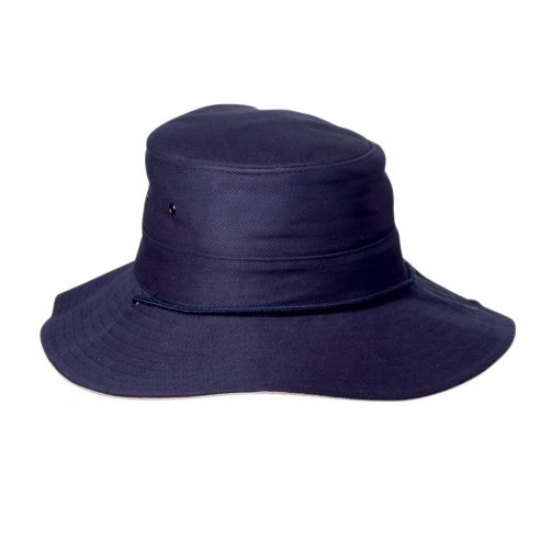 Rigon---UV-boonie-hat-for-men---Navy-blue