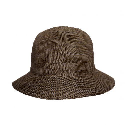 Rigon---Bucket-hat-for-women---Suede-brown