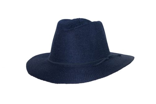 Rigon---UV-fedora-hat-for-women---Jacqui---Navy-blue