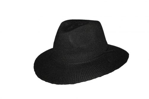 Rigon---UV-fedora-hat-for-women---Jacqui---Black