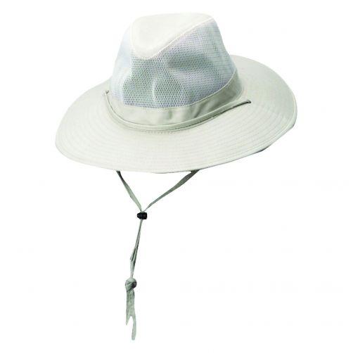 Dorfman-Pacific---Safari-hat-with-cord-for-Men---Oat