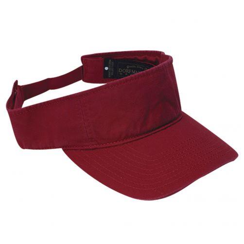 Dorfman-Pacific---UV-golf-visor-for-Men---Red