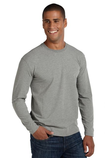 Coolibar---UV-Long-Sleeve-T-Shirt---Grey-Heather