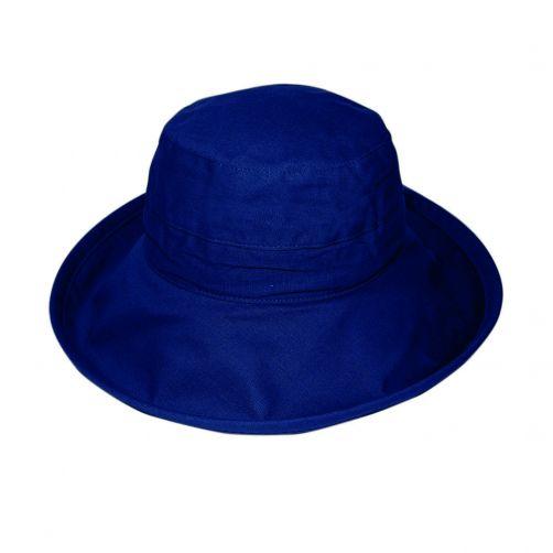 Rigon---UV-Bucket-hat-for-women---Navy-Blue