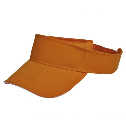 Tropical-Trends---UV-visor-for-women---Orange