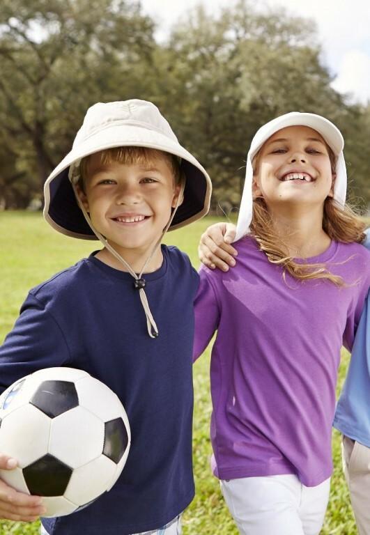Kids sun hats