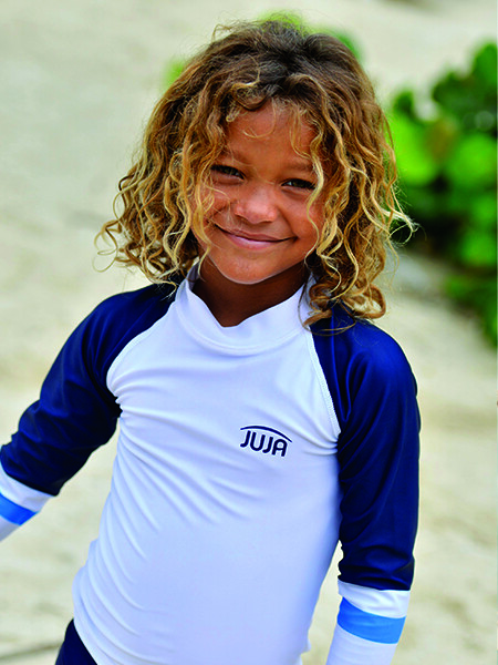 Boys UV clothing and swimwear