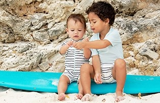 Lässig UV swimwear for boys and girls