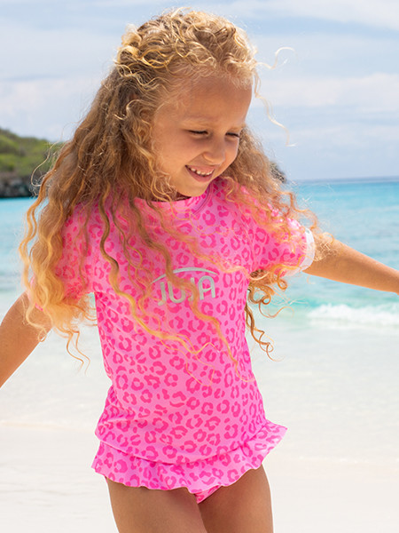 Girls UV clothing and swimwear